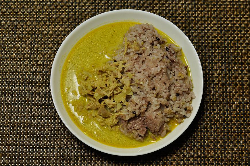 タイで食べたグリーンカレー:俯瞰