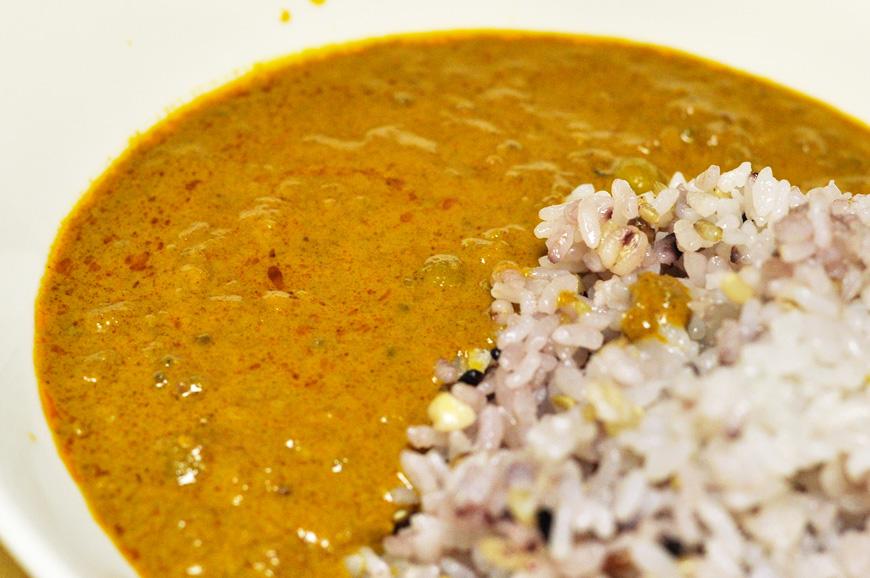 ご飯に合うインドカレー、キーママタルカレー
