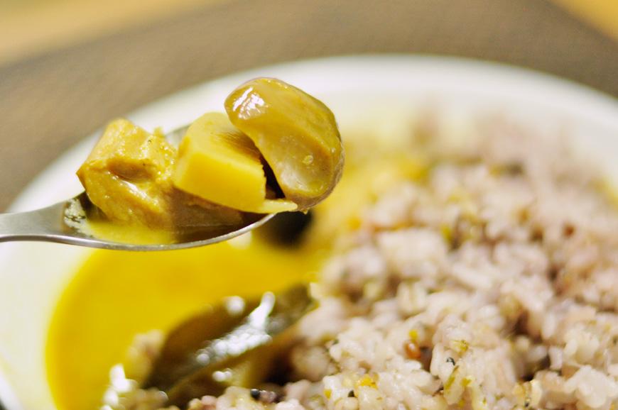 コリコリ食感ふくろだけ、ホクホク鶏肉、甘みたっぷり筍