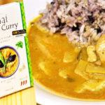 ムソーナチュラルのレトルトカレー。タイグリーンカレー(有機野菜使用)