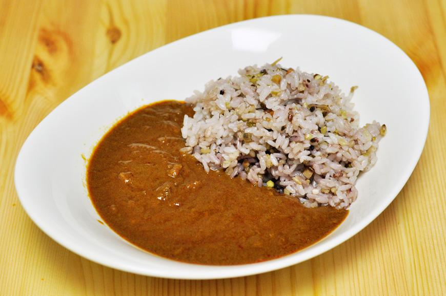 三河赤鶏 肉味噌カレー 八丁味噌使用