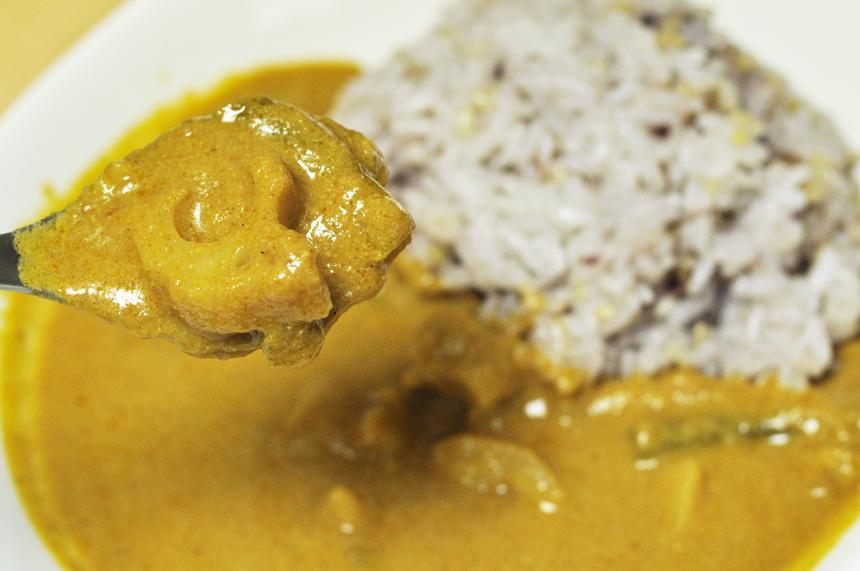 ベジタブルカレー レンコンとインゲン豆