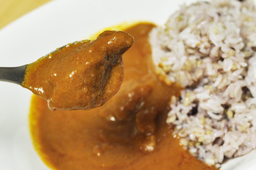 スーホルムカフェのレトルトカレー 臭みのないイノシシのお肉
