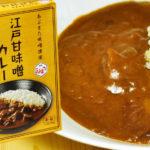 甘辛い味噌の味 江戸甘味噌カレー