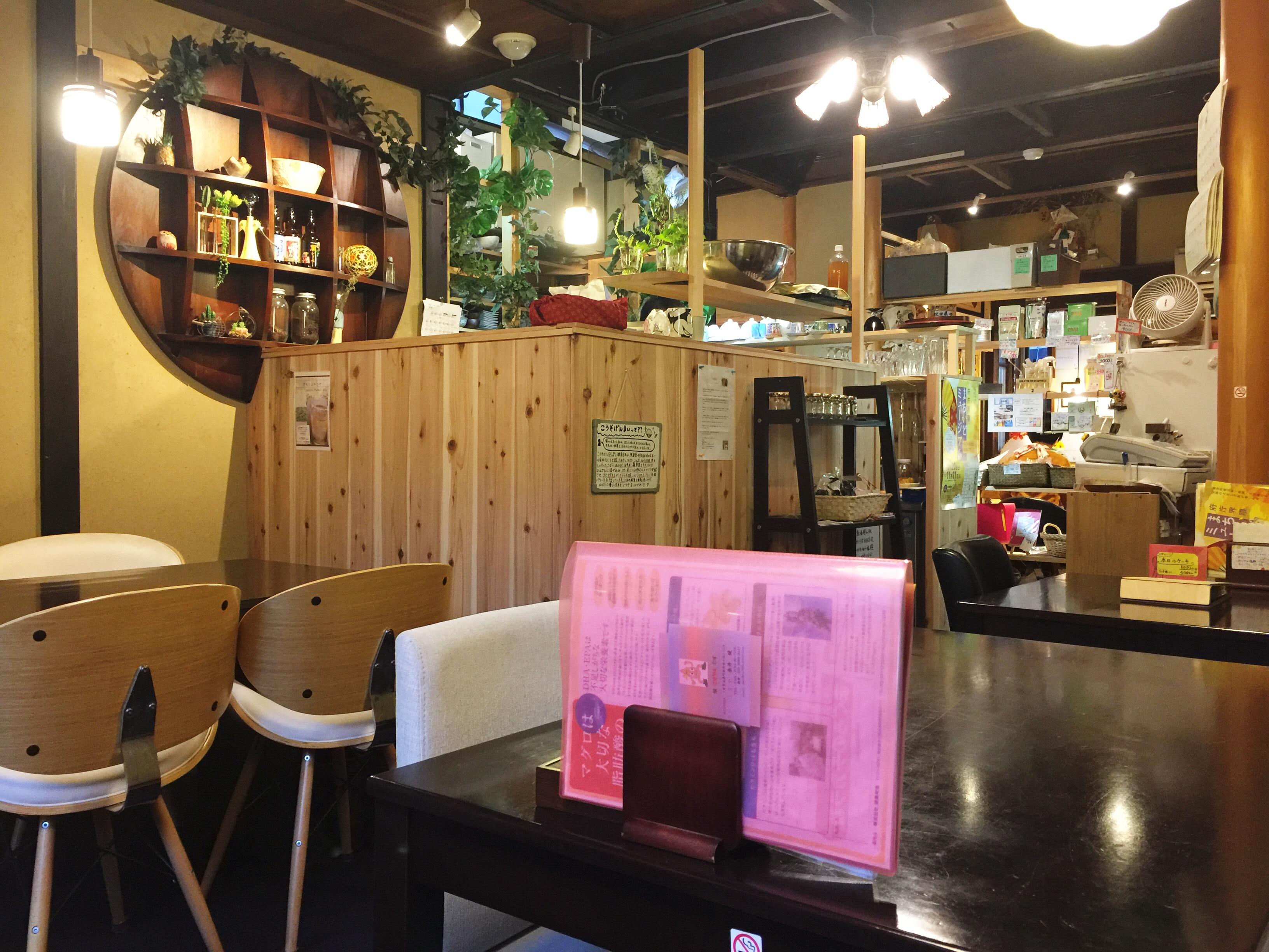 こうそカフェ85 店内