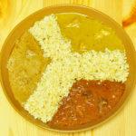 にしきや 絶品インドカレー チキンコルマ ビーフマサラ マトンムグライ