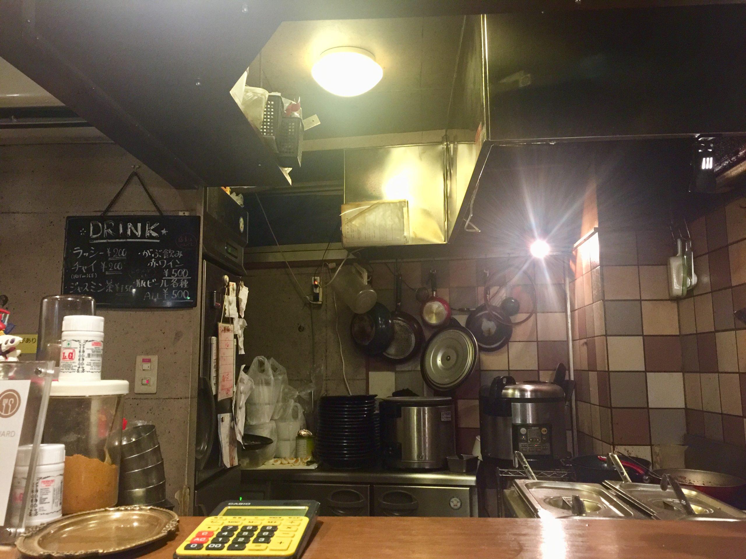 新宿 カレー店 魯珈(ろか)店内