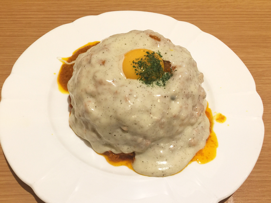 THE SPICE チーズキーマカレー
