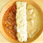 インドのゴア地方 にしきやのレトルトインドカレー チキンシャクティ ポークヒンダル