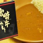 カレーソースは抜群に美味しい。宮崎牛カレー