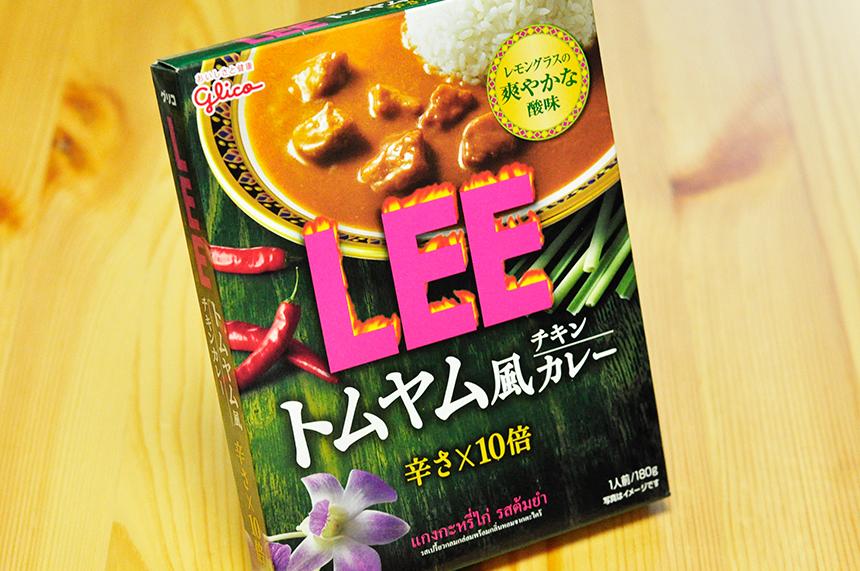 LEE トムヤム風チキンカレー レトルトカレーパッケージ