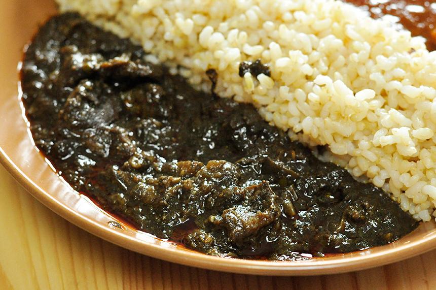 にしきや 南インド タミル料理 ベイガン ティル マサラ
