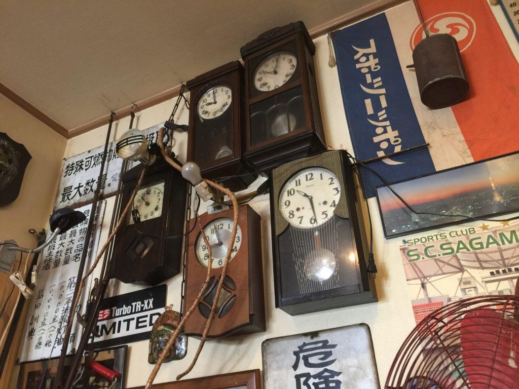 カレーの店マボロシ アンティーク雑貨