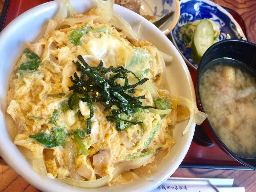 660円でお腹いっぱい。具沢山のお味噌汁嬉しい。