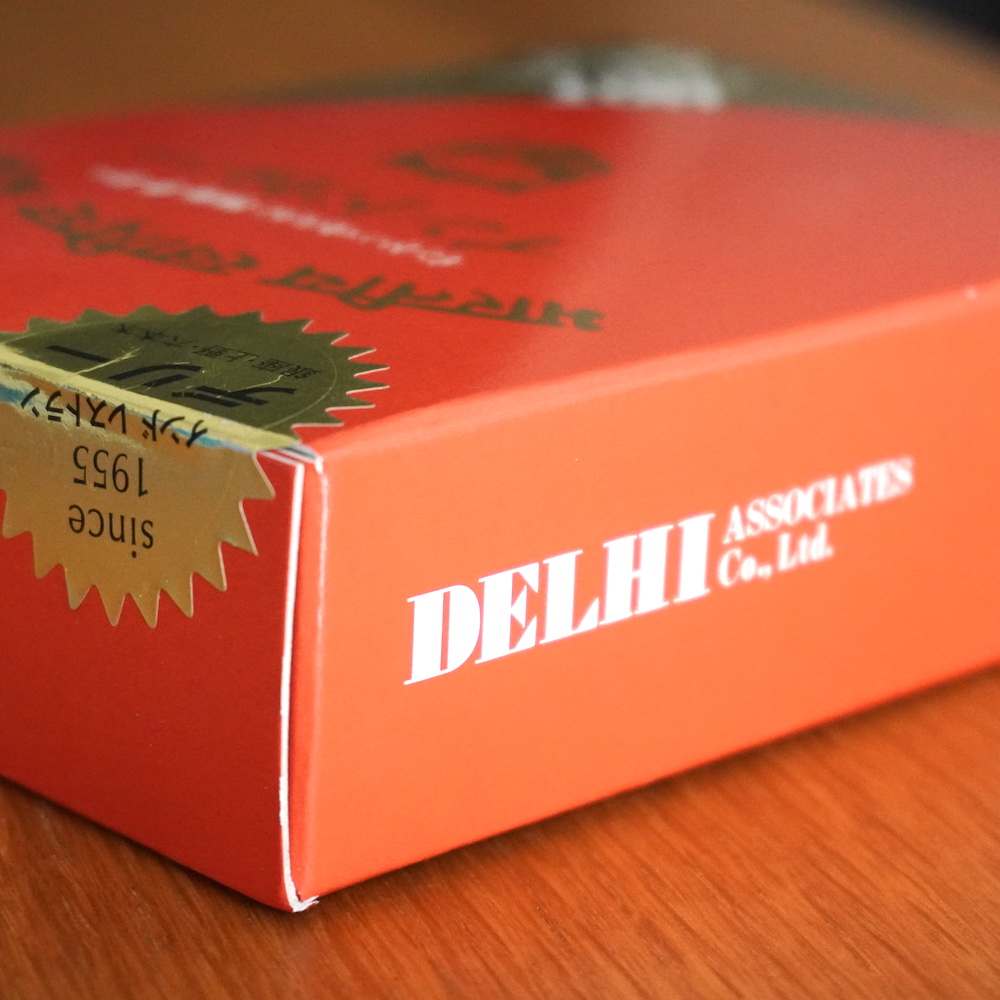 インド・パキスタン料理 デ リー レトルトカレーパッケージ