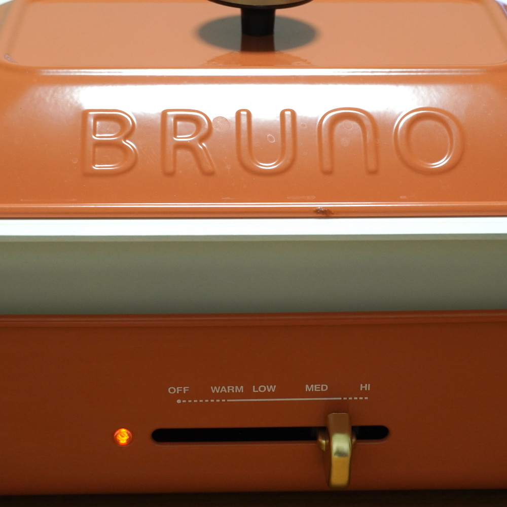 BRUNOのお鍋使用。