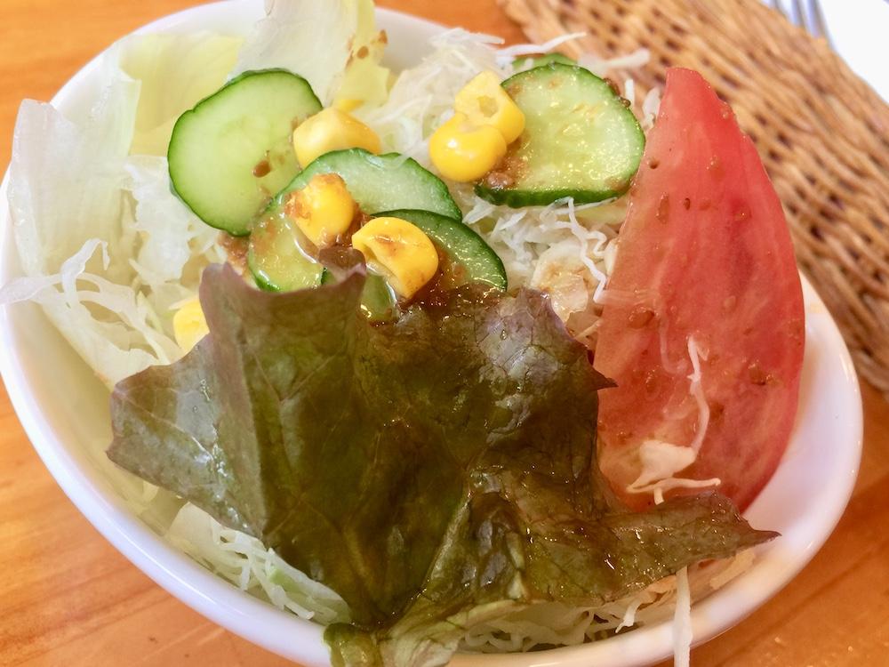 四つ木 喫茶店 チロル サラダ