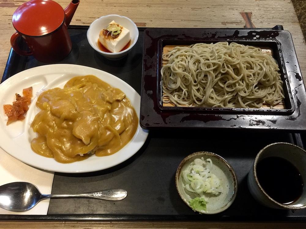 松のや カレーライス定食 900円(税込)