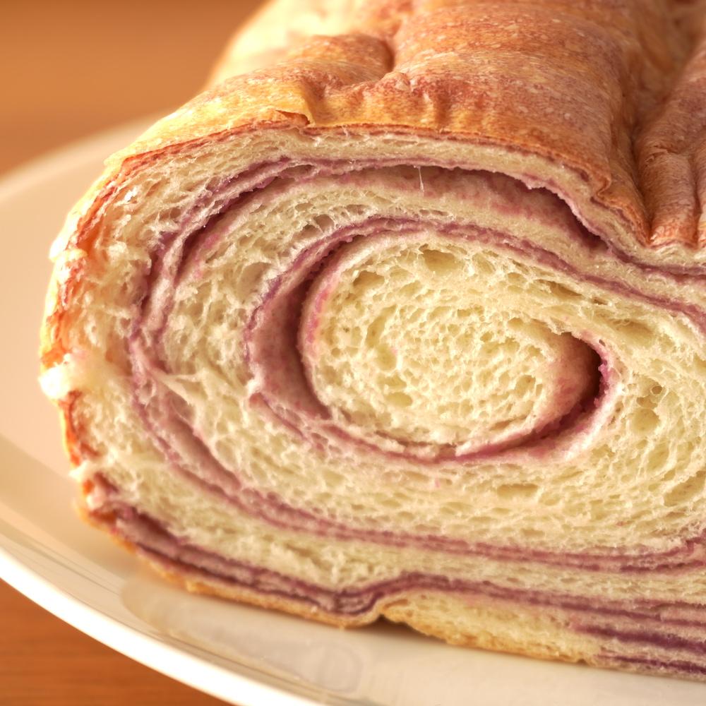 ナポリ人気のラウンド食パン 約400円