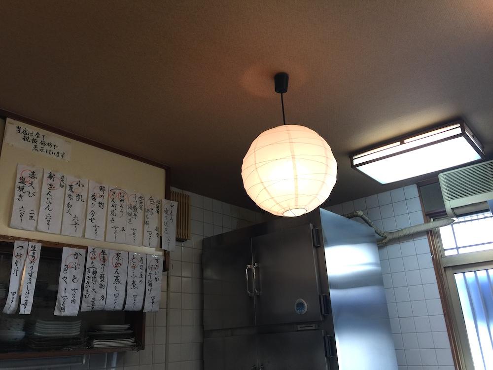 福寿司 店内天井