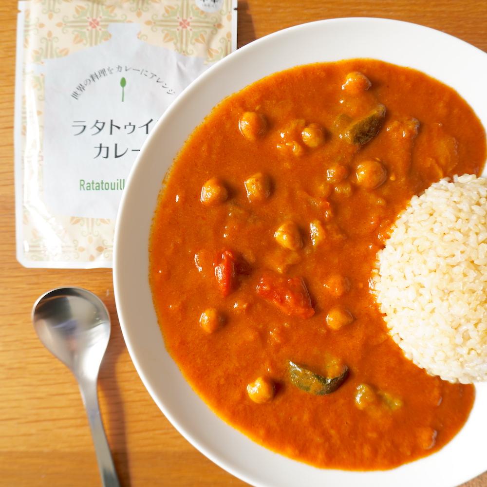 世界の料理をカレーにアレンジ ラタトゥイユカレー