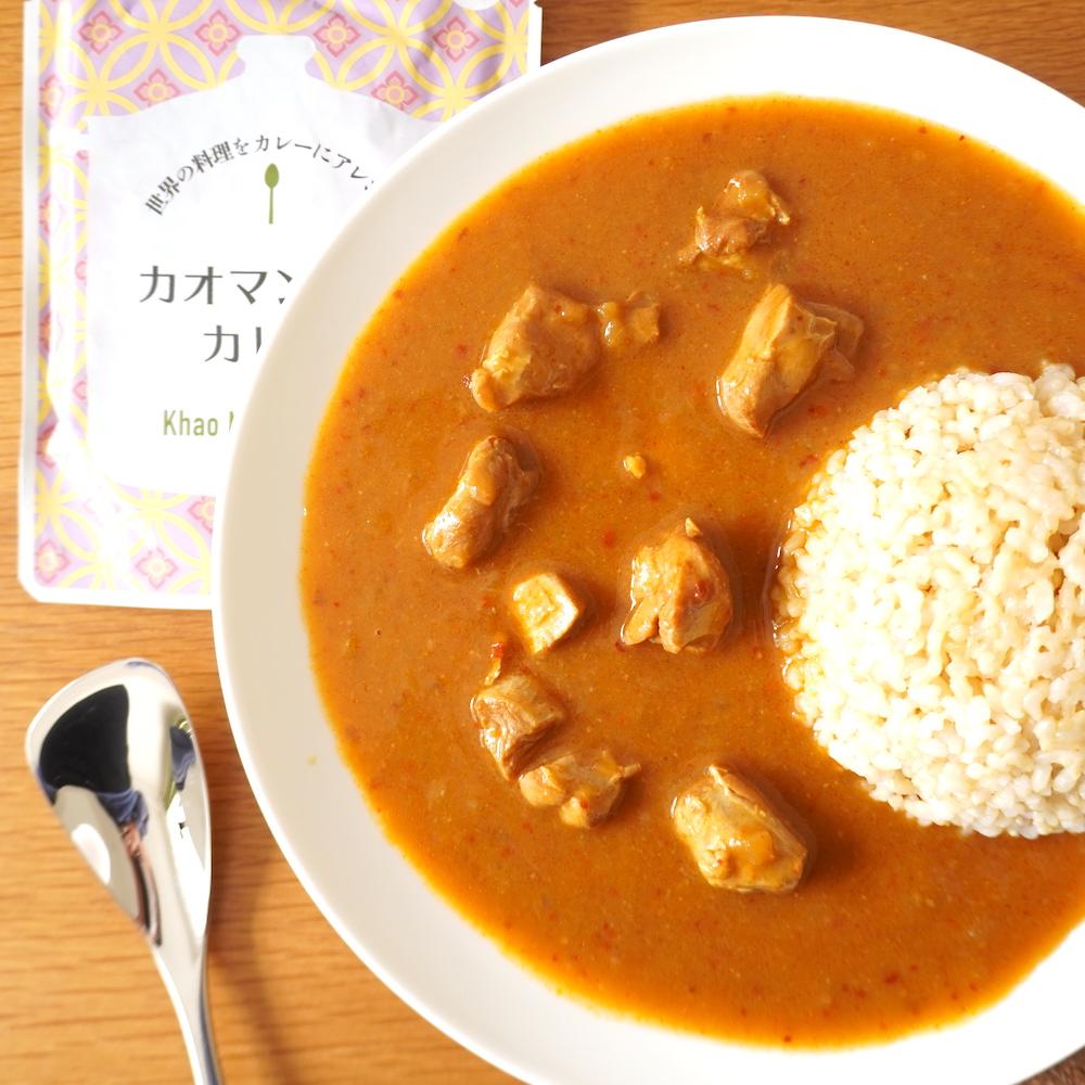 世界の料理をカレーにアレンジ カオマンガイカレー